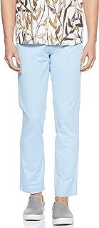 Wrangler Straight Trouser for Men - Light Blue