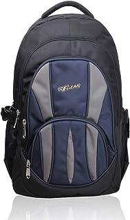 F Gear Adios 32L Black Navy Blue School Bag 1853
