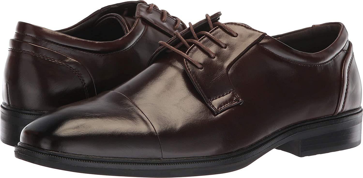 Van Heusen Men's Hank Brown 9 D US D (M)