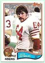 Jack Reynolds 1982 Topps #491 - San Francisco 49ers, Hacksaw
