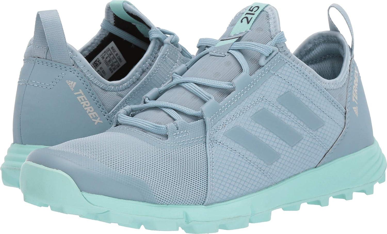adidas Women's BC0455 Terrex Speed Trail Running Shoe, Ash Grey/Ash Grey/Clear Mint - 8 M