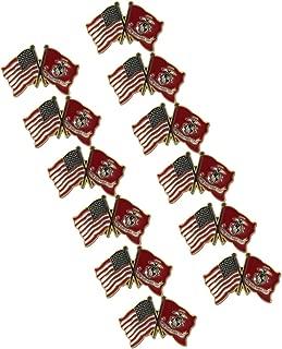 US and Marine Lapel Pin