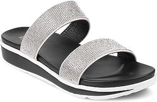 tresmode Women Casual Flats Fashion Slipper 