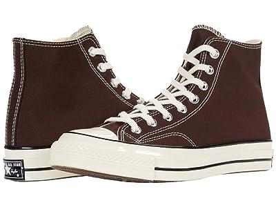 Converse Chuck 70 Hi (Dark Root/Black/Egret) Shoes
