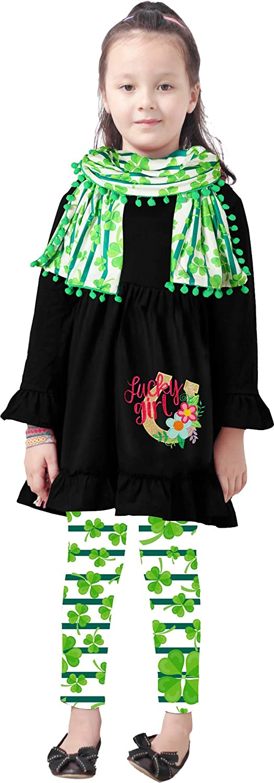 Baby Toddler Little Girls St. Day Patricks Patty 全商品オープニング価格 Shamrock Clover 税込