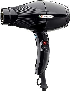 GAMMAPIU' Asciugacapelli Professionale Sintech Nero, Phone per Capelli con Nano Silver Technology, Phon Capelli Leggero e ...