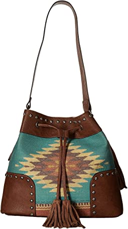 M&F Western - Zapotec Bucket Bag