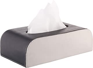 Sepia Car Tissue Box (Black and Grey)