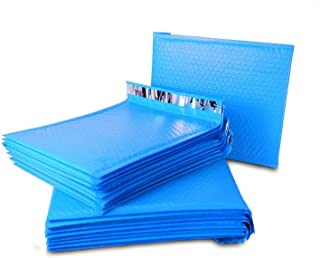 """MADISHAN #0 6"""" x 10"""" Poly Bubble Mailers Blue Self Seal Padded Shipping Envelopes Bags Total Pack of 500 Envelopes"""