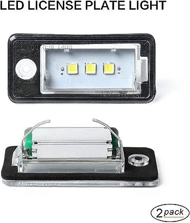 NUMBER PLATE LAMPS LIGHTS X2-3B5943021E fits VOLKSWAGEN VW T5 TRANSPORTER