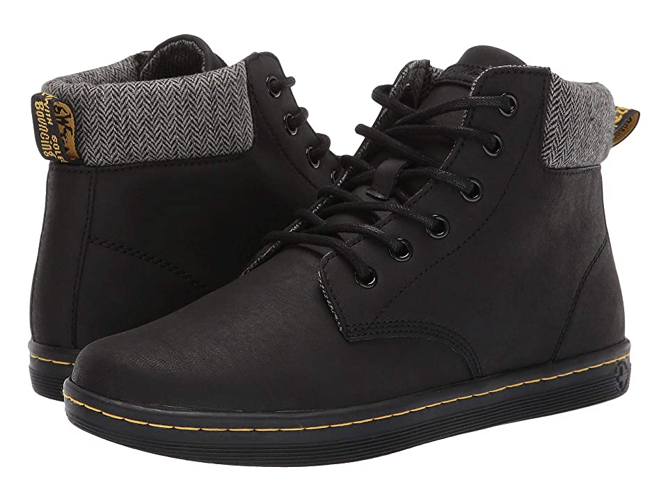 Dr. Martens Maelly (Black Greasy Lamper) Women