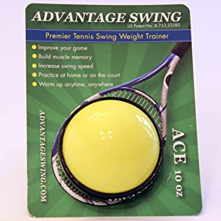Advantage Swing ACE 10 Ounce Tennis Swing Weight