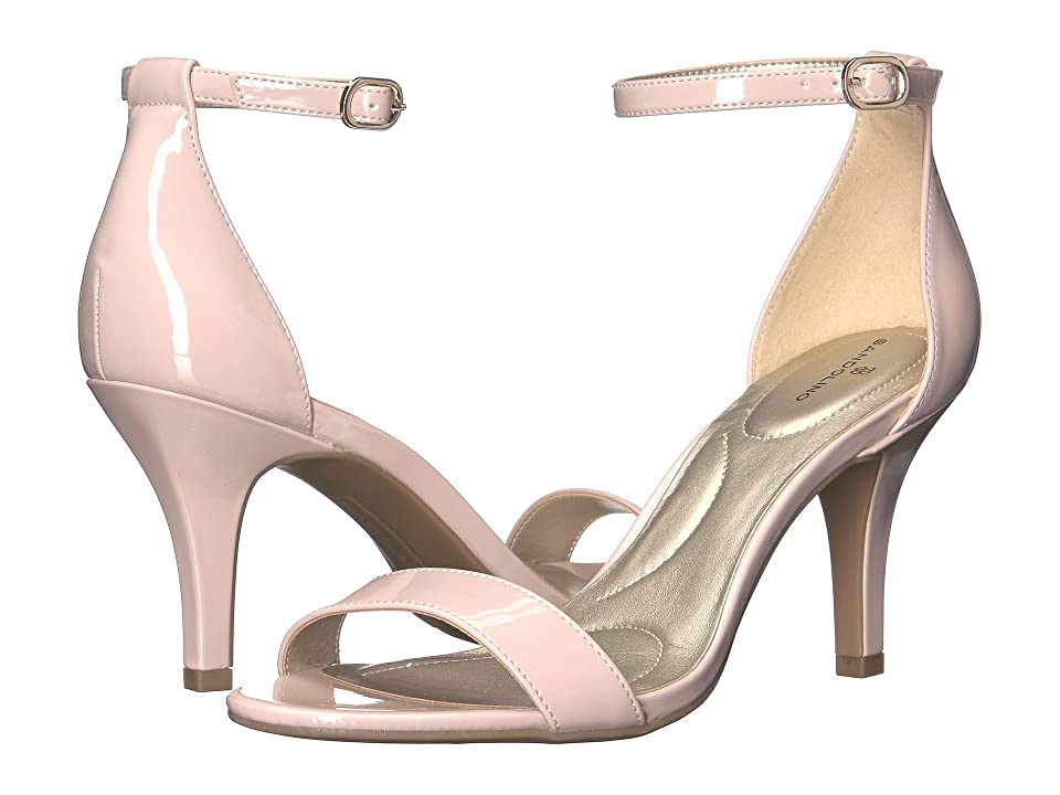 Bandolino Madia (Dusty Pink Patent Super Soft Patent Synthetic) High Heels