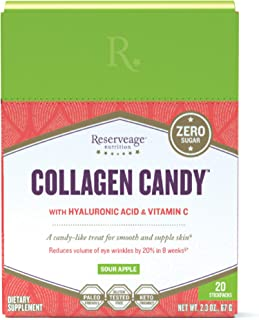 Sponsored Ad - Reserveage, Collagen Candy to Support Healthy Skin and Nails and Promote Collagen and Elastin Production, P...
