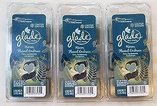 18 Glade Warm Flannel Embrace Wax Melts 3-6 Packs - Fern Sandalwood Cardamom