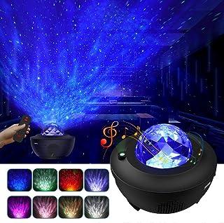 LBell Night Light Projector 3 in 1 Galaxy Projector Star...