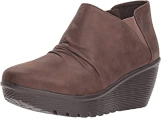 Women's Parallel-Curtail-Twin Gore Ruched Bootie Ankle Boot