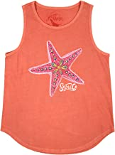 Southern Fried Cotton Under The Sea Women's Tank Top-Push Pop-Small