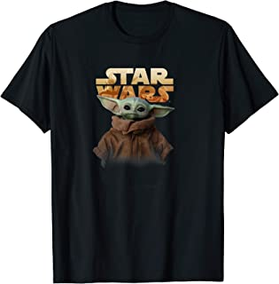 Star Wars Baby Yoda Logo Camiseta