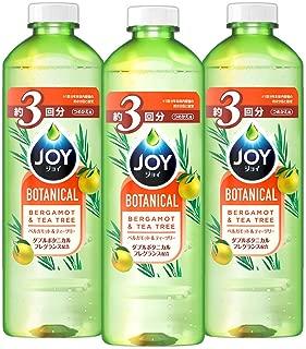 【まとめ買い】 ジョイ ボタニカル 食器用洗剤 ベルガモット&ティーツリー 詰め替え 440mL×3個