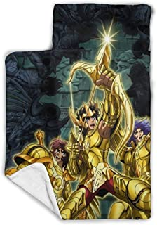 """Other1 Child's Sleeping Bag with Blanket and Pillow Inspired by Saint Anime Seiya Del Comfortable Flannel Sleeping Cushion Child Nap Mat 43""""""""X21"""