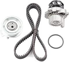 OCPTY Timing Belt Kit Including Timing Belt Water Pump with Gasket tensioner Bearing etc, Compatible for 00 01 02 03 04 05 Volkswagen Beetle/99 00 01 02 03 04 05 11 12 Volkswagen Jetta