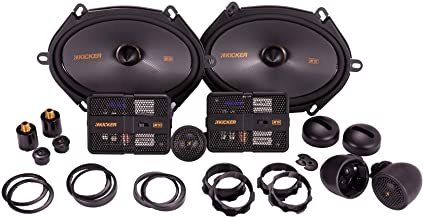 Kicker 47KSS6804 Car Audio 6x8 Component 400W Peak Speakers Pair KSS6804 New photo