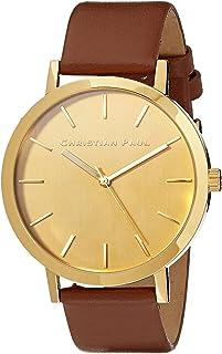 Christian Paul Unisex-Adult CGG4304 Year-Round Analog Quartz Brown Watch
