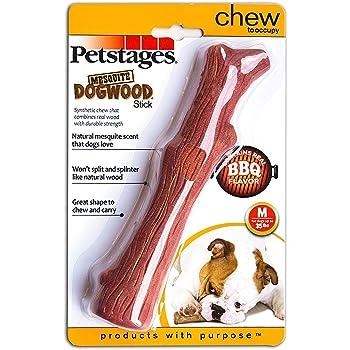 ペットステージ (Petstages) ウッディー・タフ・スティック ミディアム BBQ フレーバー 2パック