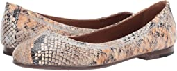 Tan Multi Snake Embossed Leather