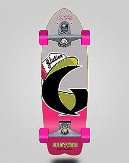 Glutier Surfskate with T12 Surf Skate Trucks Calif...
