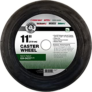 MTD Genuine Parts 490-325-M026 11-Inch Caster Wheel for 42-Inch Zero Turn Mowers