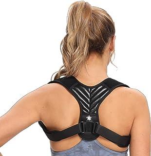 Turtleandmore Houdingcorrectie voor mannen en vrouwen, rechthouder rug, verstelbaar, verbetert de houdingverlichting, rugs...