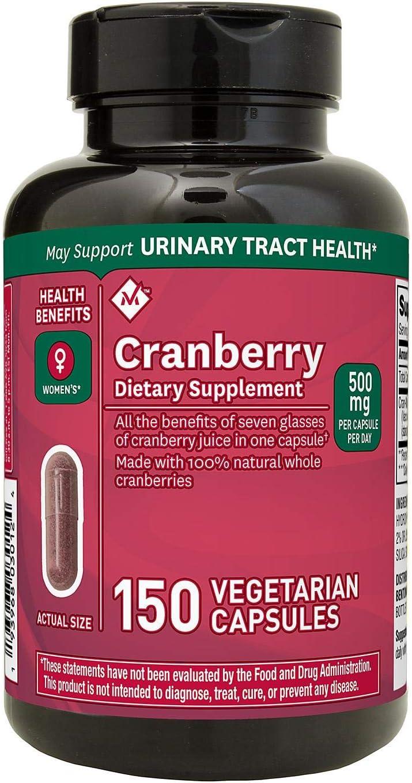 Member's Mark Clinical Strength Cranberry 推奨 500mg Suppleme 店内全品対象 Dietary