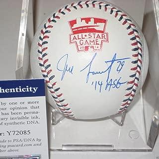 Jeff Samardzija Signed Official 2014 All-Star Baseball - PSA/DNA Certified - Signed MLB Baseball Authentication & Inscription