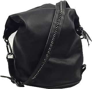 Dolce Vita Convertible Backpack Hobo Black
