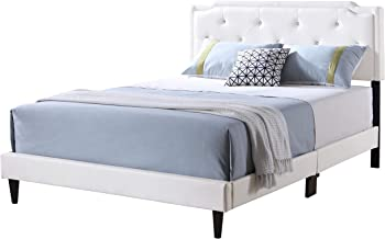 Glory Furniture 1118-QB-UP Bed - All In One Box Queen White