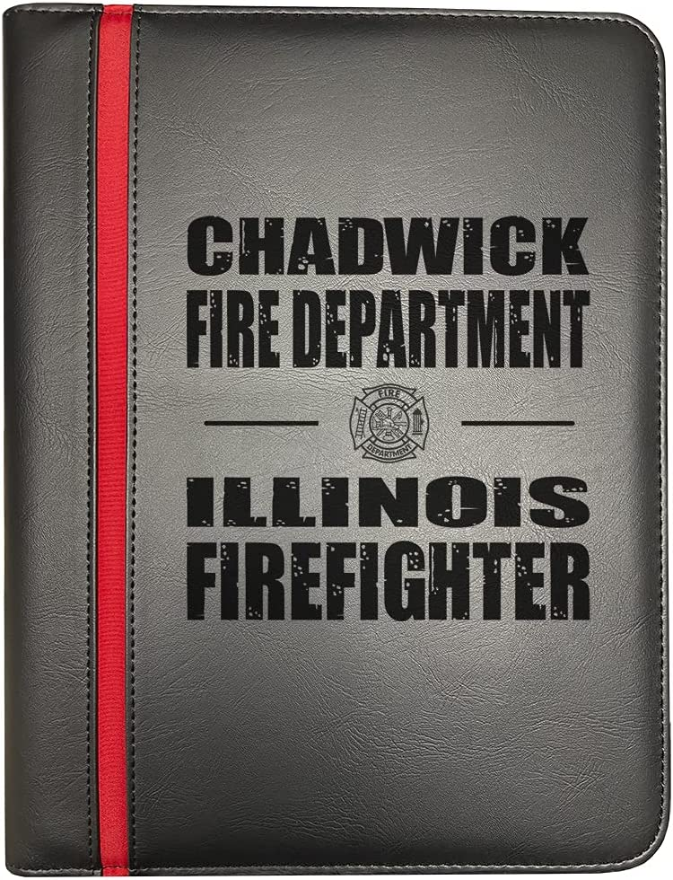 Chadwick Illinois Fire OFFicial Rapid rise mail order Departments Firefighter Thin Red Fir Line