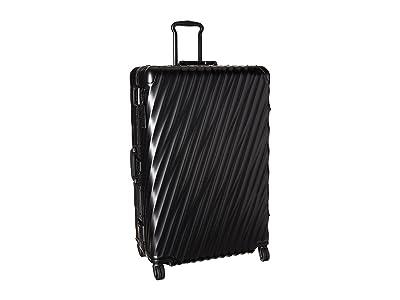 Tumi 19 Degree Aluminum Worldwide Trip Packing Case (Matte Black) Luggage