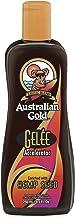 Acelerador de bronceado con loción de semillas de cáñamo de oro australiano, 250 ml.