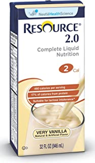 Nestle Clinical Nutrition Resource 2.0 Nutritional Supplement - Doy276000, 1 Pound
