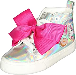 JoJo Siwa Girls' Fashion High Top Sneakers (Little Girl/Big Girl)