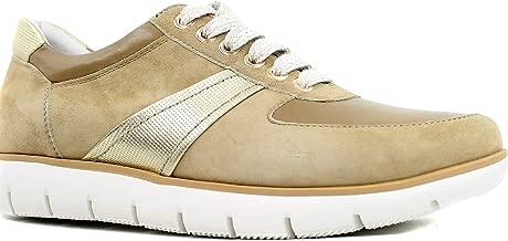 Regarde Le Ciel Coline Amalfi Nubuck Fashion Sneaker in Camel, 38 EU