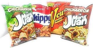 Jack 'n Jill Party Pack (Chicharron Sukang Paombong & Espesyal Suka't Sili, V-Cut Potato Chips and Chippy Barbecue Chips)