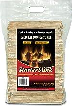Pine Mountain STO StarterStikk 100% Fatwood, 10 Pound Resealable Poly Bag Natural Firestarting Sticks Campfire, Fireplace,...
