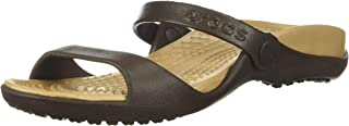 Crocs Cleo, Sandales Bout Ouvert Femme