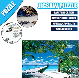 Jigsaw Puzzle 1000 Piece - Large Puzzle Game Artwork for Adults Teens, Puzzles Landscape Pattern, Sturdy and Easy to Use Plastic Puzzle, Pieces Fit Together Perfectly
