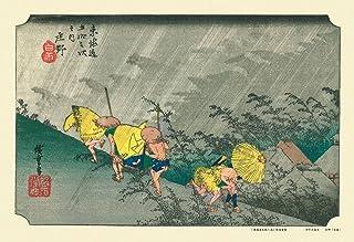 キューティーズ 300ピース ジグソーパズル 庄野 (東海道五拾三次)(26x38cm)
