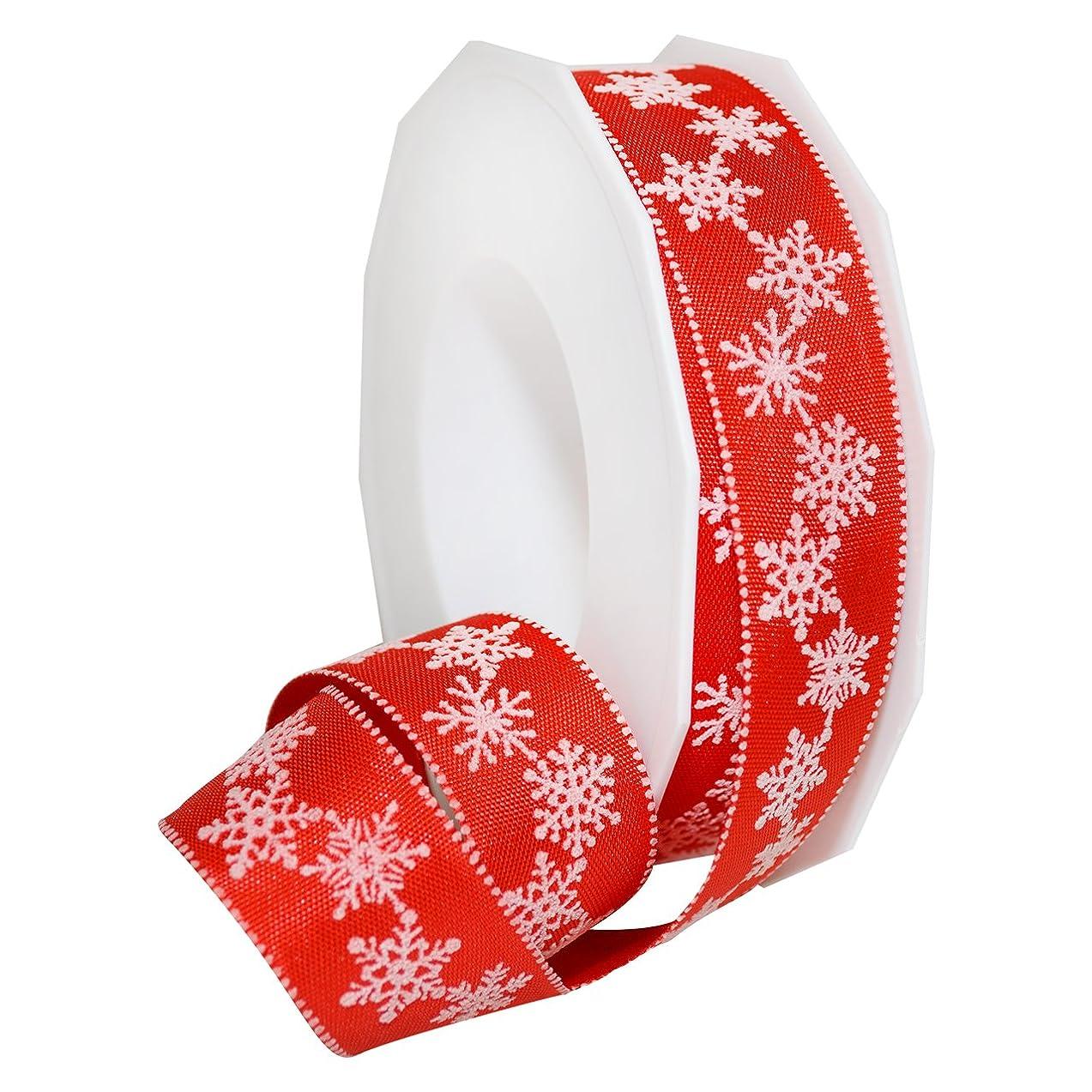 Morex Ribbon Petite Christmas Celebration Themed Grosgrain Ribbon, 1