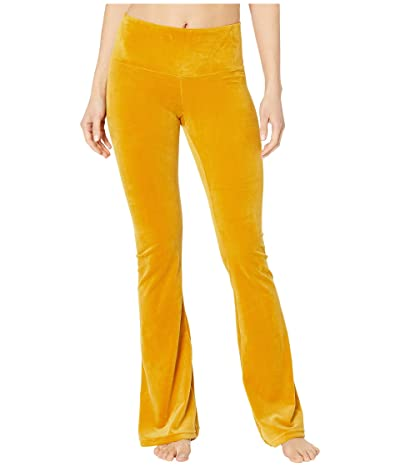 Niyama Sol Velour Flare Pants (Gold) Women